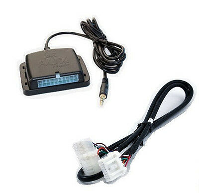 Auxiliary audio input interface. Add aux MP3 jack to 02+ MAZDA factory radio ()