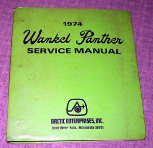 Vintage Arctic Cat Manuals