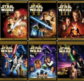 Star wars 1-6 dvd films