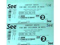 Carfest Tickets (2x Adult, 2x Children) Saturday 26th August