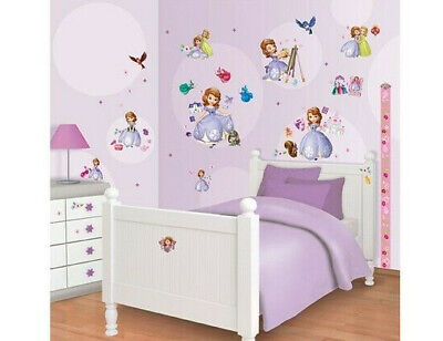 dtattoo Wandaufkleber Wandsticker Wand Aufkleber Sticker Neu (Prinzessin Sofia Dekorationen)