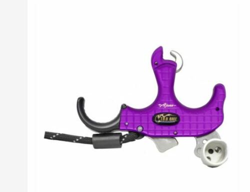 TruBall - Blade Pro Flex - 3 or 4 Finger - Purple / QuickSilver - Medium