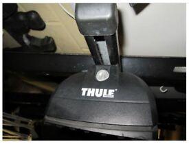 Full Thule Rapid System, 753 foot, Thule SquareBar 118, Kit 3069, 2 keys > Mondeo 02-07 & Others