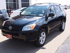 2010 Toyota Rav4 AWD black 2.4L auto