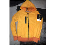 STONE ISLAND leather jacket size small (exclusive)