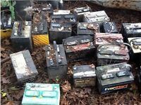 WANTED OLD USED CAR VAN LORRY HGV LCV BIKE BATTERY BATTERIES FOR PONY FENCE CAN COLLECT