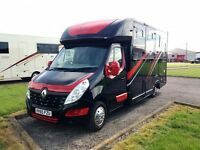 Horse box self drive hire
