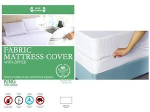 Fabric Mattress Cover with Zipper