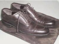 Cesare Paciotti Brown Lace-up Mens Shoes