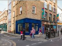 Shop to rent on Brick Lane