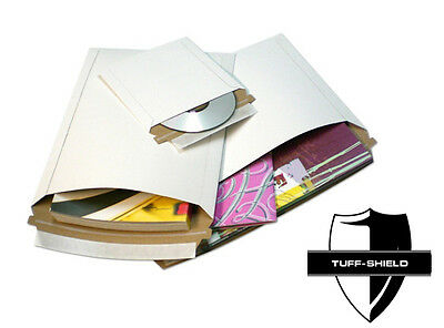 6x6 Rigid Lay Flat Self Seal Mailers Cd Dvd Photo