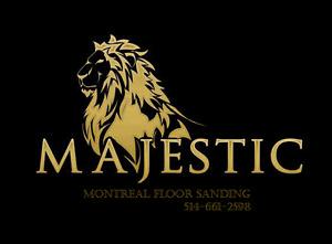 Majestic Floors - Sanding, staining, refinishing 514-661-2598