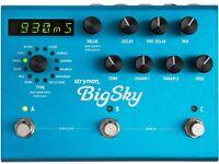 Strymon BigSky Reverb Guitar effects pedal