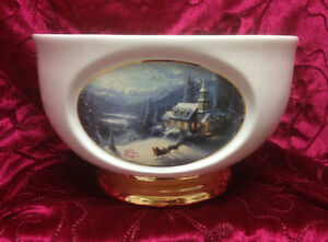 Thomas Kinkade Vase / Planter Kingston Kingston Area image 1