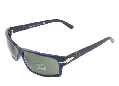 Persol PO 2997S 181/31 Navy Blue Sunglasses Sonnenbrille Grey Lenses Size 60