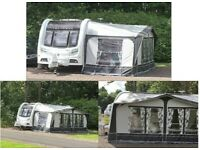 Coachman VIP 520/4, 4 berth, (2013) with Full Dorema Awning and Porch Awning