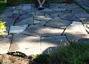 """Flagstone 3"""" thick"""