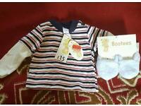0-3 months boy t-shirt never been worn