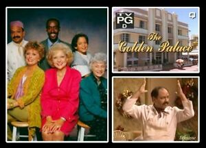 TV THE GOLDEN PALACE COMPLETE 24 EPS DVD GOLDEN GIRLS SPIN OFF