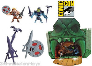 SDCC 2013 exclusive HE-MAN & SKELETOR mini figure 2-pack MOTUC MOTU COMIC-CON