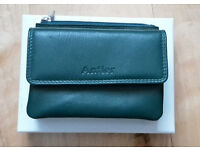 Antler Lara Leather Purse (Teal) - Brand new in a box