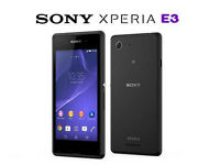 Sony Xperia E3 D2203 4G LTE Quad-Core Android Mobile Phone Black - EE