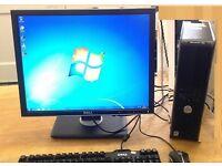 Dell Computer, has, 3GB ram, Microsoft office, win7