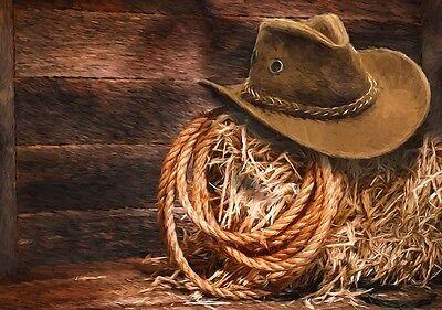 M/&F Western Magnets 9 Piece Texas Vintage Brown 94248