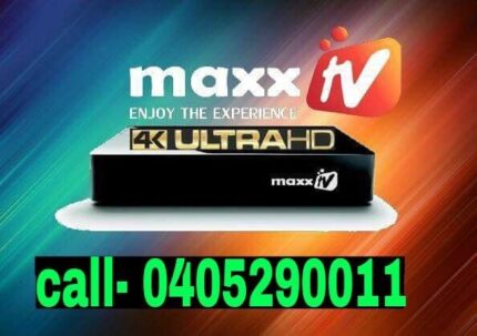 MAXX TV /REAL TV/LIVE TV  (Recharge , new boxes)