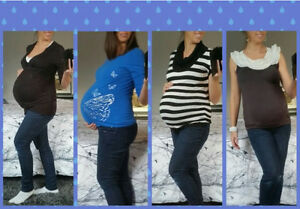Maternity Shirts (size S or M)