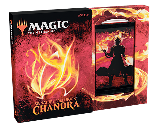 MTG Signature Spellbook: Chandra [IN HAND, FREE SHIPPING]