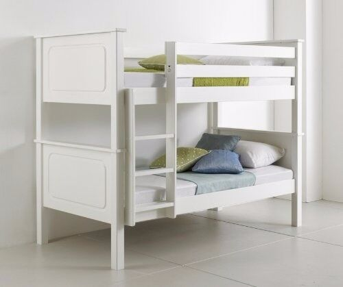 NEW-WHITE WOODEN VANCOUVER BUNK BED****FREE DELIVERY*****£279