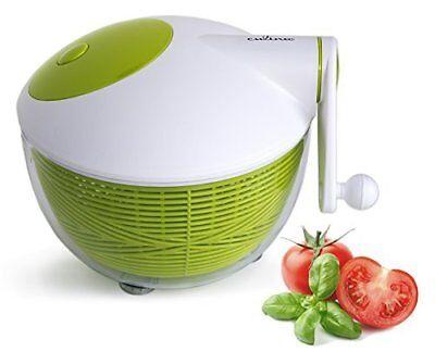 Starfrit Salad Spinner Top Quality features an ergonomic han