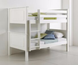 NEW-VANCOUVER WHITE WOODEN BUNK BED***£249 FREE DELIVERY***