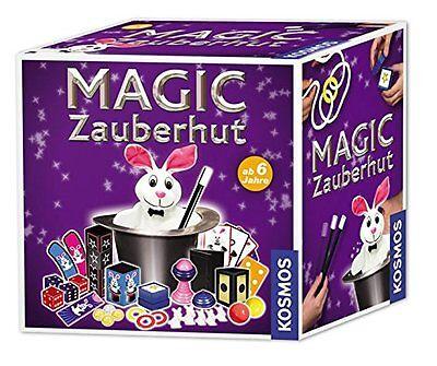 Zauberhut Magic Kosmos Zylinder Zaubertricks Kaninchen Plüsch Kartenkassette Set