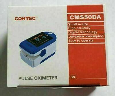 Contec Cms50 Finger Pulse Oximeter Portable Spo2 Monitor New