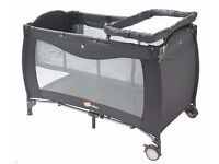 Babydan Mimas Luxury Travel Cot / Playpen + Mattress