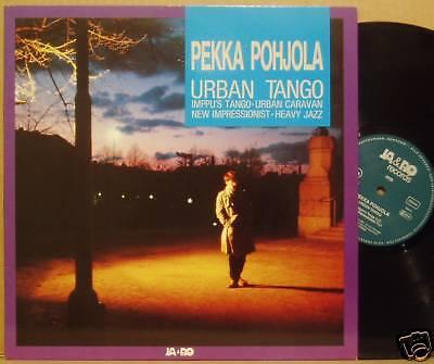 LP Pekka Pohjola Urban Tango Jaro Rec 1982