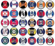 MLB Logo Sticker