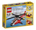 Red Helicopter Toy Building Toys