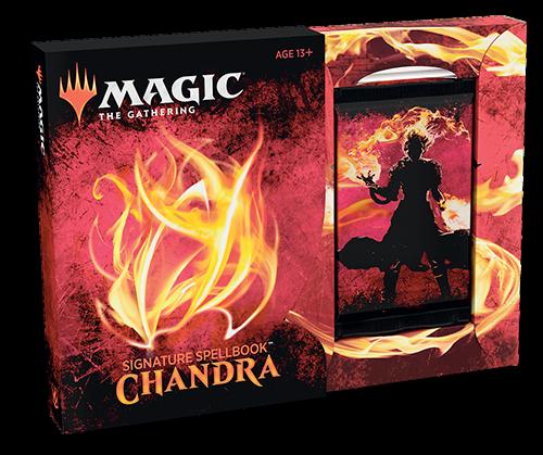 MTG Signature Spellbook: Chandra [IN HAND, FREE SHIPPING]
