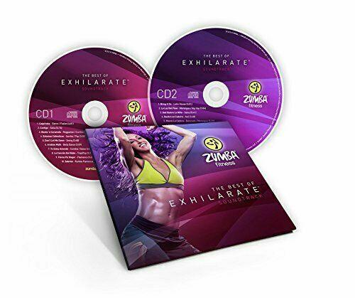 Zumba Best of Exhilarate Soundtrack CD 2 piece set Dance Music Disc Set