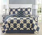 King Polyester Plaid Comforters & Bedding Sets