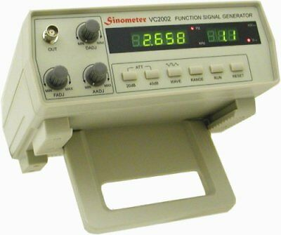 Sinometer 2mhz Function Generator Vc2002 With High Stability And Accuracy