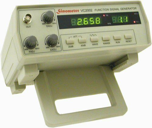 Sinometer 2MHz Function Generator, VC2002 with high stabilit