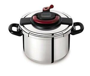 Tefal Clipso Plus Stainless Steel Pressure Cooker, 6 Litres- Brand New