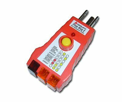 Triplett Plug-bug 2 9610 Gfci Receptacle Outlet Tester New Free Shipping