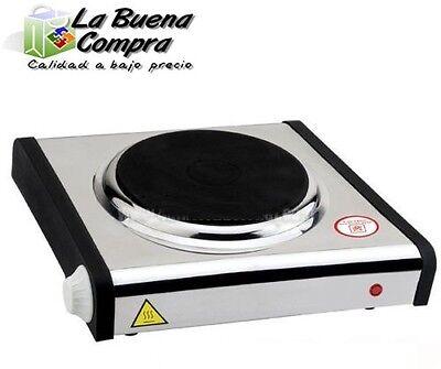 COCINA ELECTRICA 1 QUEMADOR 1 PLACA 1000W COCINA ELECTRICA METALICO CAMPING