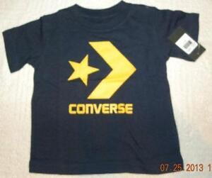 cb222cdab933 Boys Converse T Shirt