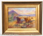 Highland Cattle Paintings